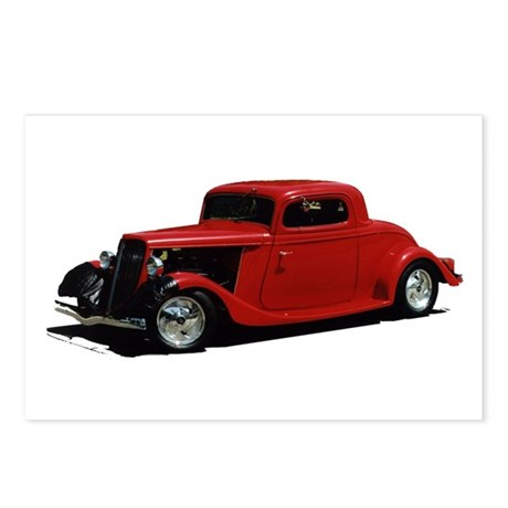 Helaine's Hot Rod 2 Postcards (Package of 8)