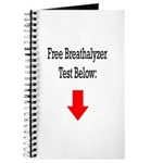 Free Breathalyzer Test Below Journal