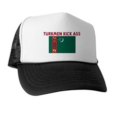 TURKMEN KICK ASS Trucker Hat