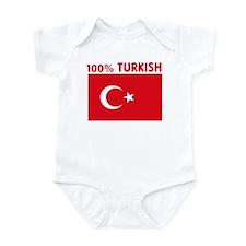 100 PERCENT TURKISH Onesie