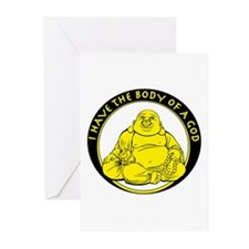 I Have The Body Of A God Greeting Cards (Pk of 20)