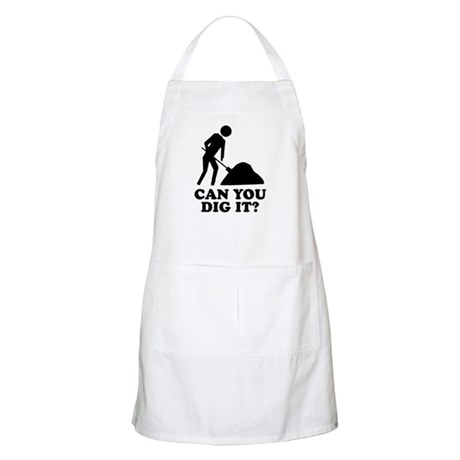 Can You Dig It BBQ Apron