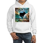 Worship & Praise Your Dog Hooded Sweatshirt