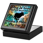 Worship & Praise Your Dog Keepsake Box