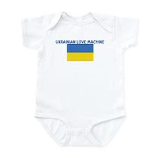 UKRAINIAN LOVE MACHINE Infant Bodysuit