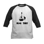 Blog This! Kids Baseball Jersey