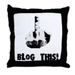 Blog This! Throw Pillow