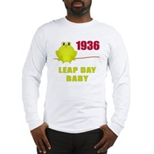 1936 Leap Year Baby Long Sleeve T-Shirt