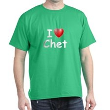 I Love Chet (W) T-Shirt
