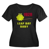 1928 Leap Year Baby Women's Plus Size Scoop Neck D