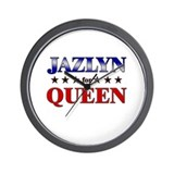 JAZLYN for queen Wall Clock