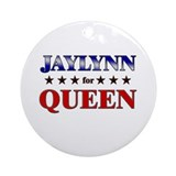 JAYLYNN for queen Ornament (Round)