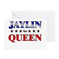 JAYLIN for queen Greeting Cards (Pk of 20)