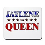 JAYLENE for queen Mousepad