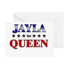 JAYLA for queen Greeting Card