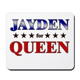 JAYDEN for queen Mousepad