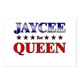 JAYCEE for queen Postcards (Package of 8)