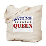 JAYCEE for queen Tote Bag