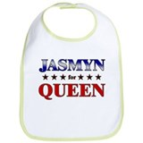JASMYN for queen Bib