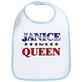 JANICE for queen Bib