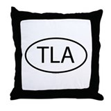 TLA Throw Pillow