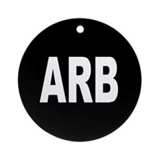ARB Ornament (Round)