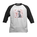 Great Dane Black UC Kiss Tee
