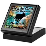 Be Kind To Animals! Keepsake Box