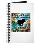 Be Kind To Animals! Journal