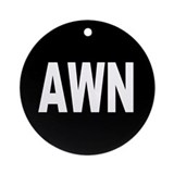 AWN Ornament (Round)