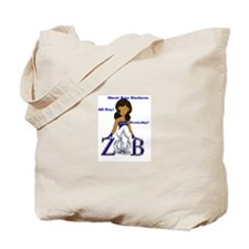 Funny Zeta phi beta Tote Bag