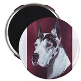 Harlequin Great Dane Magnet