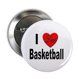 "I Love Basketball 2.25"" Button (10 pack)"
