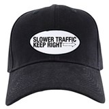 Slower Traffic Baseball Hat