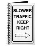 Slower Traffic Journal