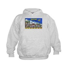 Birmingham Alabama Greetings (Front) Hoodie