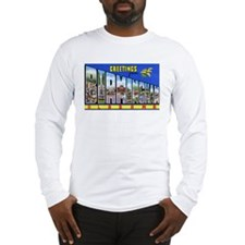 Birmingham Alabama Greetings (Front) Long Sleeve T
