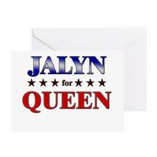 JALYN for queen Greeting Card