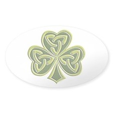 Celtic Trinity Oval Decal