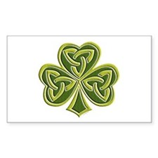 Celtic Trinity Rectangle Decal