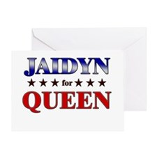 JAIDYN for queen Greeting Card