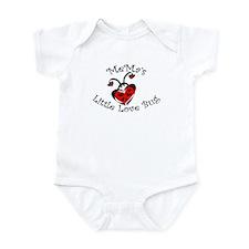 MeMa's Love Bug Ladybug Infant Bodysuit