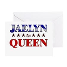 JAELYN for queen Greeting Card