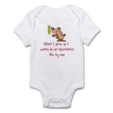 Optometrist Infant Bodysuit
