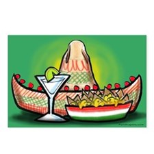 Cool Salsa Postcards (Package of 8)
