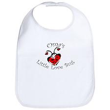 Oma's Love Bug Ladybug Bib