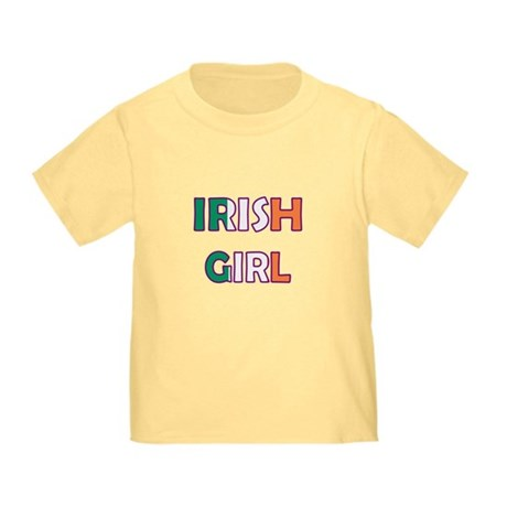 Irish Girl Toddler T-Shirt