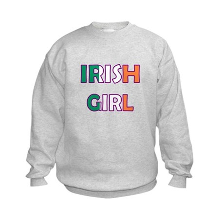 Irish Girl Kids Sweatshirt