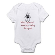 Cowboy Infant Bodysuit