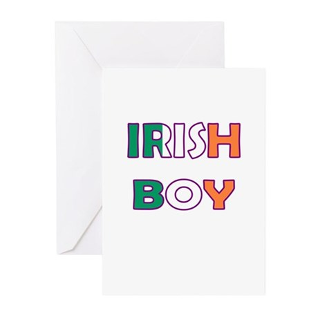 Irish Boy Greeting Cards (Pk of 10)